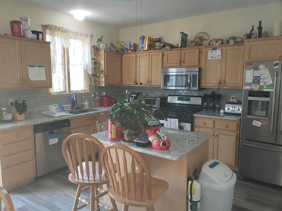 Sober Living Home Maplewood, Minnesota - Kitchen View 2